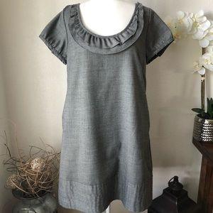 Gap Wool Blend Shift Dress